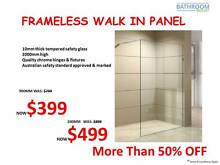 Shower Screen 50% OFF! Forest Hill Whitehorse Area Preview