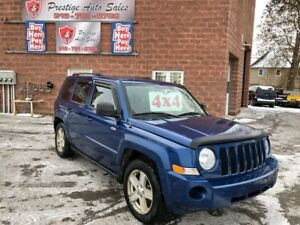 2010 Jeep Patriot North/4X4/NO ACCIDENT/SAFETY/WARRANTY INCL