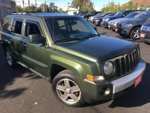 2007 Jeep Patriot LIMITED/AUTO/LEATHER/SUNROOF/LOADED/ALLOYS