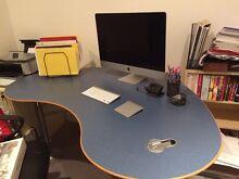 Stylish jelly-bean shape office desk Albert Park Port Phillip Preview