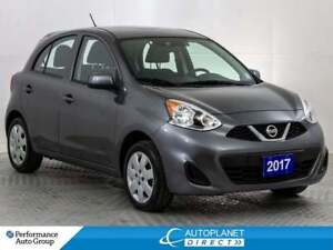 2017 Nissan MICRA SV, Keyless Entry, Clean Carfax, Ontario Vehic