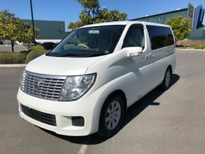 2004 Nissan Elgrand E51 Series 2 White 5 Speed Automatic Wagon Arundel Gold Coast City Preview