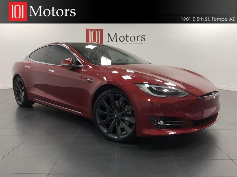 Image 1 Coche Americano usado Tesla Model S 2017