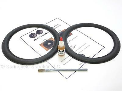 "2 Advent 10"" Advent 1 Speaker Foam Repair Kit - Advent 2, 3, 4 - 2ADV10m"