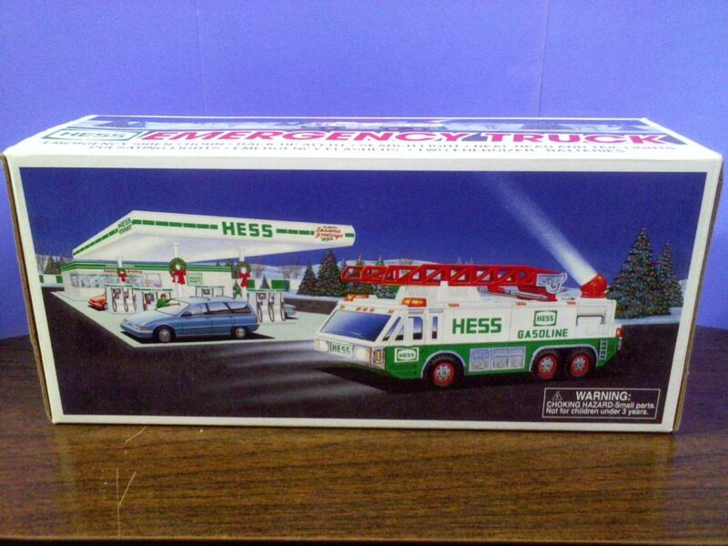 1996 Hess Toy Emergency Truck (w/ Original Box)