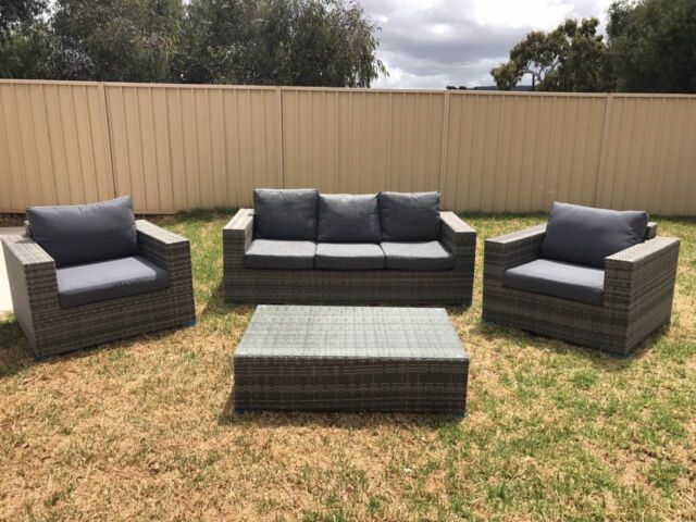 Outdoor 3 Seat Sofa Sets Lounging Relaxing Furniture Gumtree Austra