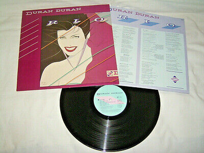 LP Duran Duran Rio - 1982 OIS # cleaned