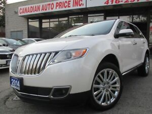2014 Lincoln MKX TECH-PKG-PRM-NAVI-CAM-PANORAMIC-ROOF