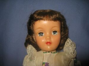 Vintage Ideal Brunette Harriet Hubbard Ayers Doll