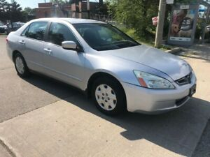 2004 Honda Accord 4 CYLENDERS,AUTO,174K,3988,SAFETY+3YEARS WARRA