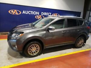 2014 Toyota RAV4 Limited NAVI, LEATHER, SUNROOF