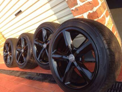 Audi Volkswagen  5x112 wheels and tyres
