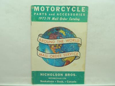 1973-74 Motorcycle Parts And A...