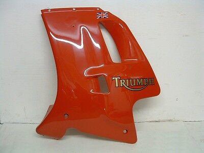 TRIUMPH DAYTONA OR TROPHY LEFT HAND SIDE FAIRING PANEL   RED