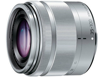 F/S New Panasonic H-FS35100 35-100 mm f/4-5.6 Lens For M4/3 Silver without box