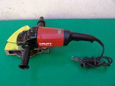 Hilti Dc 700s Concrete Cut Off Saw Grinder 120 Volts  Works Fine