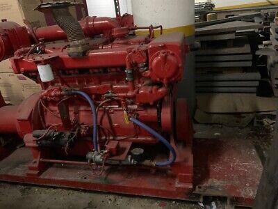 87 Cummins 855 Diesel Powered Pump Engine