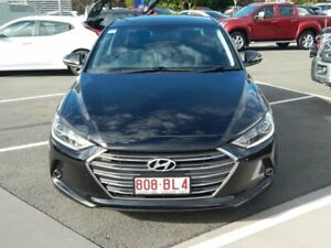 2017 Hyundai Elantra AD MY18 Elite Black 6 Speed Sports Automatic Sedan North Lakes Pine Rivers Area Preview