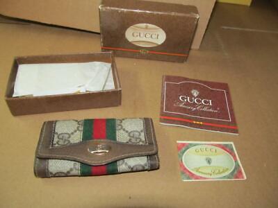 Vintage Gucci Accessory Collection 1983 (80's) Men's Key Case Complete