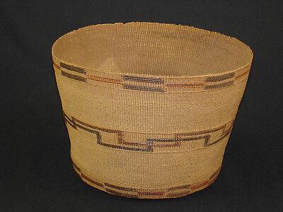 A Tlingit basket, American Indian basket, circa: 1910