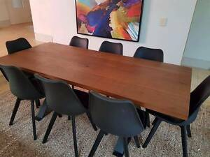 Beautiful Wooden Second Origin Table - Industrial Style Paddington Eastern Suburbs Preview