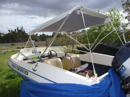 Cheap fibreglass Ski Boat Hull and Trailer
