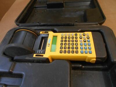 Brady Id Pro Plus Label Dot Matrix Printer W Case
