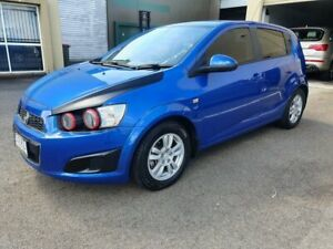 2011 Holden Barina TM Blue 6 Speed Automatic Hatchback Marcoola Maroochydore Area Preview