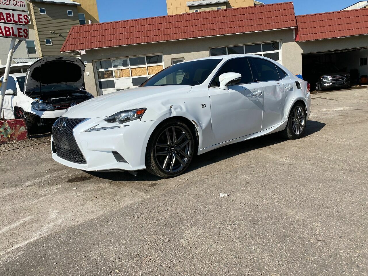 2014 Lexus IS 350, White with 49318 Miles available now!
