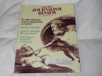 COLUMBIA JOURNALISM REVIEW MAGAZINE / JULY AUGUST 1978 / VIETNAM / JIMMY CARTER