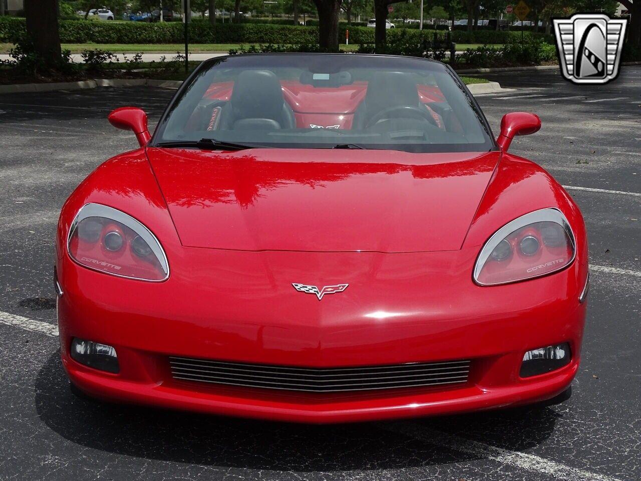2006 Red Chevrolet Corvette     C6 Corvette Photo 3