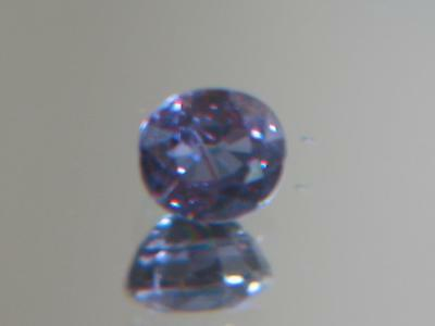 1.40CT GIA REPORT BLUE-GREEN TO PURPLE PYROPE-SPESSARTINE COLOR CHANGE GARNET