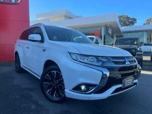 2018 Mitsubishi Outlander ZK MY18 PHEV AWD LS White 1 Speed Automatic Wagon Hybrid Traralgon Latrobe Valley Preview