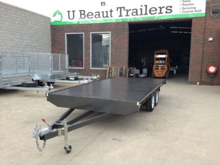 15x7 Flat Top Tandem Trailer Seaford Frankston Area Preview