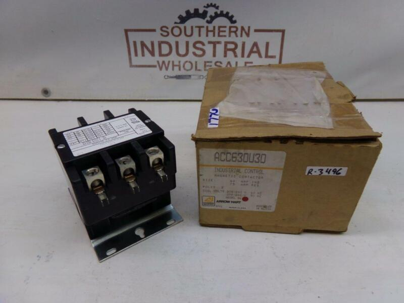 Cooper Industries ACC630U30 240V 75AMP 3-Pole Industrial Magnetic Contactor