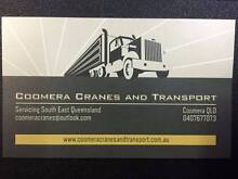 Coomera Cranes and Transport Coomera Gold Coast North Preview