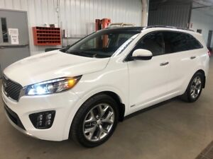 2017 Kia Sorento SX AWD V6 VERY EQUIPED! LIKE NEW!!