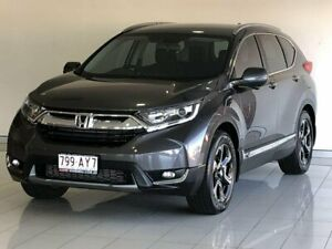 2017 Honda CR-V RW MY18 VTi-S FWD Grey 1 Speed Constant Variable Wagon Ashmore Gold Coast City Preview