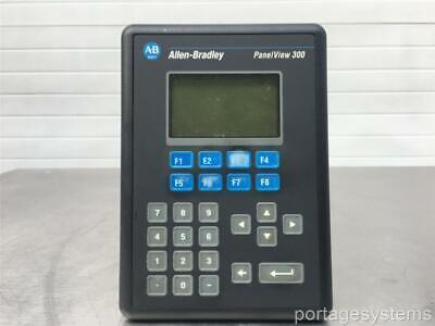 Allen Bradley Panelview 300 2711-k3a17l1  Ser. A Rev. A Frn. 4.00