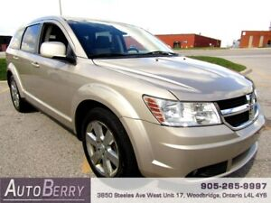 2009 Dodge Journey SXT 5 PASS **CERTIFIED ONE OWNER** $6,499