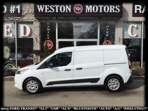 2015 Ford Transit Connect XLT*USB*AUX*BTOOTH*AUTO*A/C*SHELVING!!