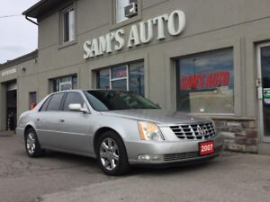 2007 Cadillac DTS LOADED LEATHER