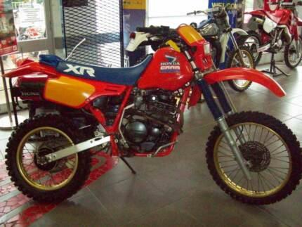 1985 Honda XR600 Trail Enduro Bike