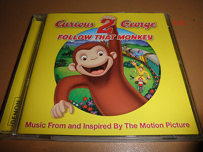 CURIOUS GEORGE 2 soundtrack CD follow that monkey BRIAN WILSON carbon leaf  Curious George Soundtrack