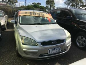 2005 Ford Focus LS CL Silver 4 Speed Automatic Sedan Werribee Wyndham Area Preview