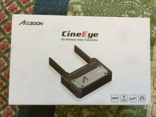 Accsoon CineEye 5 GHz Wi-Fi HDMI Wireless Video Transmitter iPad iPhone