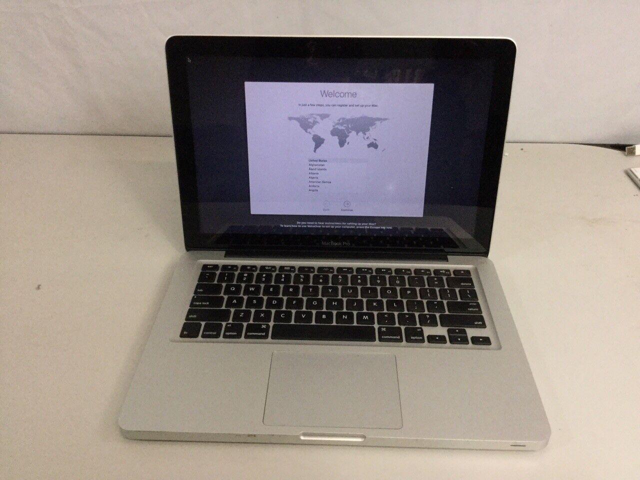 "Apple MacBook Pro 13.3"" Laptop MD101LL/A (2012) 2.5GHz i5 4GB 500GB HDD"