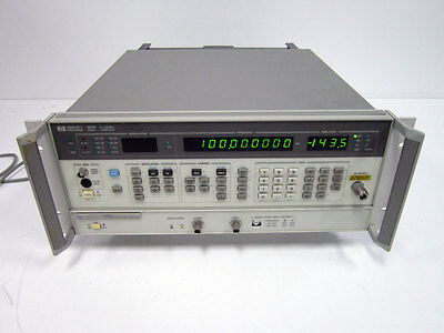 Hp 8657b Rf Generator 8657b-022 100khz-2060mhz With Option 022 Gmsk Agilent