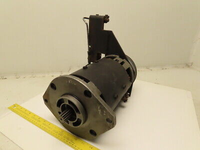 Advanced Dc 07988267 36vdc Forklift Motor W Right Side Brake Assembly