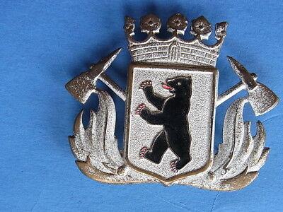 1 altes Emblem Abzeichen Mütze  Feuerwehr Berlin gebraucht kaufen  Wolfhagen
